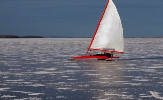 Eissegeln als Wassersport
