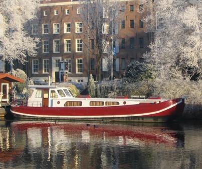 Beispielhaftes Hausboot